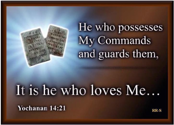 John 14.21 Message