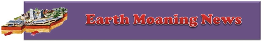Earth Moaning News Banner