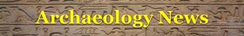 Archaeology News Banner