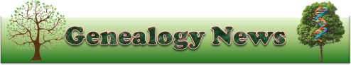 Genealogy News Banner
