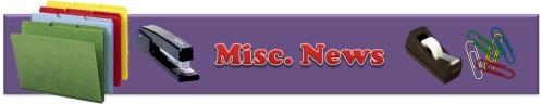 Misc News Banner