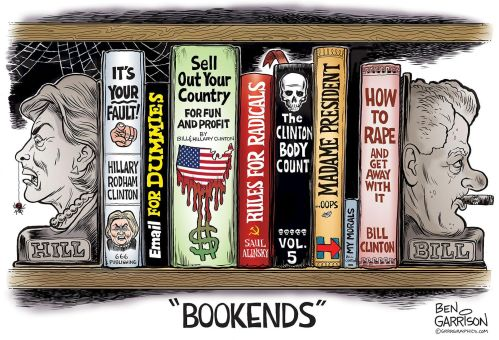 clinton-bookends-cartoon-ben-garrison