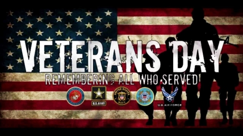 Veterans Day - Remembering all who served