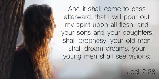 Joel 2.28