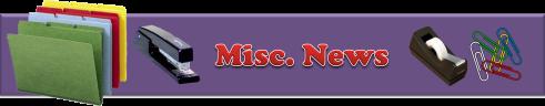 Misc. News Banner
