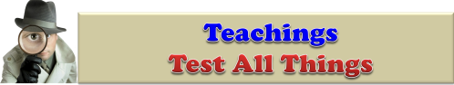 Teachings-Test All Things Banner