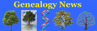 Genealogy News Banner New