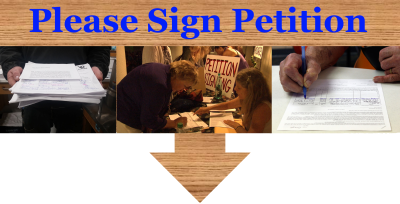 Sign Petition Banner