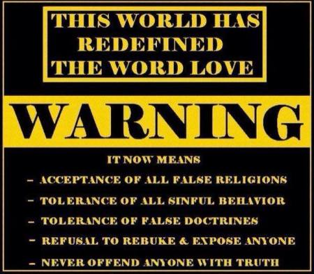 The World has Redefined The Word Love