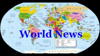 world news banner
