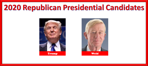 2020 Republican Presidential Candidates