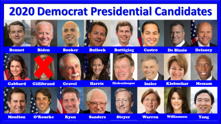 2020 Democrat Presidential Candidates-1