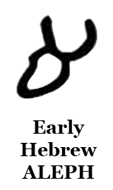 Early Hebrew Aleph