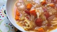 Instant Pot Vegan Cabbage Detox Soup