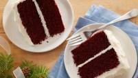 Classic Waldorf Red Cake