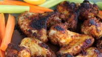Harissa and Lemon-Pepper Wings
