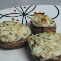 Stuffed Mushrooms with Chorizo and Gorgonzola