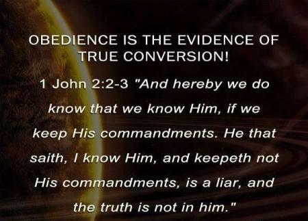 1 John 2.2-3 Message
