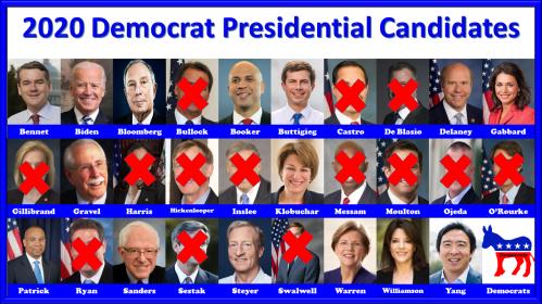 2020 Democrat Presidential Candidates-3