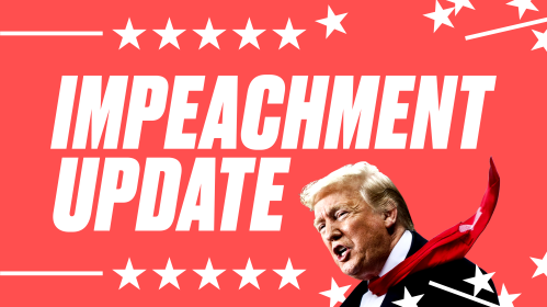 Impeachment Banner