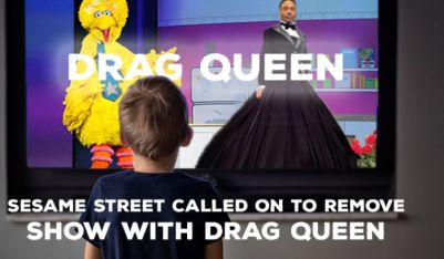 Parents demand 'Sesame Street' drop show with drag queen